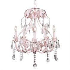 Pink Ballroom Nursery Chandelier S