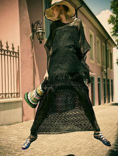 Ros In Greece   Rosanna Georgiou   Thanasis Krikis #photography   Vogue Hellas July2012