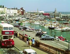Anyone for a spot of fishing? The tall masts of fishing boats at Ramsgate harbour complete the perfect snap of a seaside promenade.