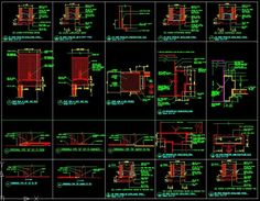 ★【Door Jamb Details】★-CAD Library | AutoCAD Blocks | AutoCAD Symbols | CAD Drawings | Architecture Details│Landscape Details