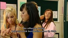 And wanted her friends to do the same: | 22 Times Ja'mie King Was The Most Real And Inspiring Person On Television