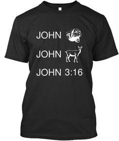Keith Urban's song John Cougar, John Deere, and John 3:16. Order here.