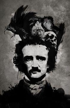 edgar allan poe, Edgar Allen Poe and kelvarkvlt image on We Heart It Allan Poe, Edgar Allan, Edgar Poe, Edgar Allen Poe Tattoo, Edgar Allen Poe Quotes, Dark Romance, Darkside, Quoth The Raven, Image Citation