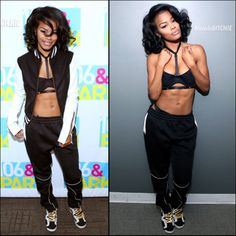 Teyana Taylor visits 106 and Park
