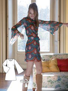 Vintage Tina Dress #V11 http://www.burdastyle.com/pattern_store/patterns/tina?utm_source=burdastyle.com&utm_medium=referral&utm_campaign=bs-tta-bl-151216-1960sVintagev11
