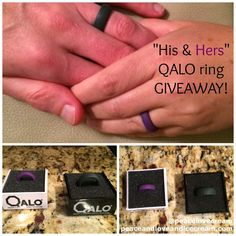 "Peace, Love and Ice Cream!: Recent Half Marathon Training Runs + a ""His and Hers"" QALO Giveaway!! Check out my mileage for the last couple of weeks and ENTER TO WIN a pair of QALO rings...the functional and fun wedding bands for the active couple!"