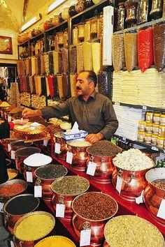 Vakil Bazaar in Kerman, Iran