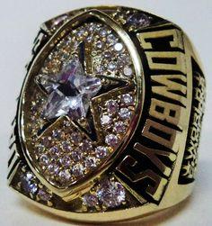 1992 Dallas Cowboys Ring