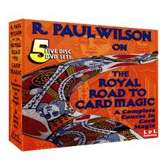 Review of R. Paul Wilson on The Royal Road to Card Magic: 5 Stars with a Stone Status of GEM  Watch full review here: http://magicreviewed.com/reviews/royal-road-to-card-magic-review/