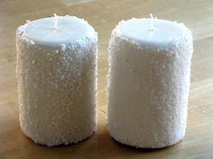 Epsom salt - use it as fake snow