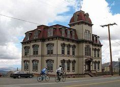 Fourth Ward School House in Virginia City, Nevada.