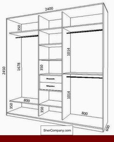 closet layout 669840144563736546 - Stylish Bedroom Decor For Your Home – CHECK THE PIC for Various DIY Bedroom Decorating Ideas. Wooden Wardrobe, Wardrobe Design Bedroom, Master Bedroom Closet, Bedroom Wardrobe, Wardrobe Closet, Armoire Wardrobe, Closet Space, Bedroom Bed, Wardrobe Staples