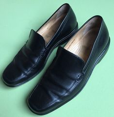 Cole Haan Pinch Tassel Leather Loafers Men's - Size 10.5 D Black