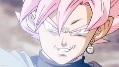 "Oh, my heart, be still. That pink hair, tho... asdkjflsjf As if he could get any hotter, for real. Black ascended to Super Saiyan ""Rose."""