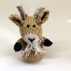 Billy Goat Ready to Kick Off Easter by TheyMakeMeSmile on Etsy