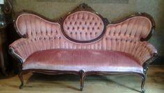 Kimball+Victorian+Parlor+Sofa+Setee+#Victorian+#Kimball