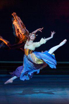 Anastasia Paschali as Graciosoa in the Royal Danish Ballet's DON QUIXOTE