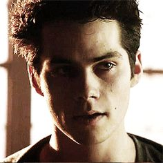 Stiles from Teen Wolf (Dylan O'Brien). Such a pretty gif. He's really knocking it out of the park this season.