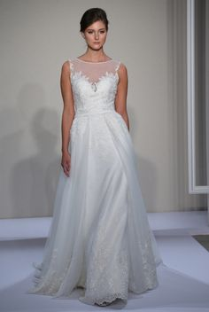 Dennis Basso for @kleinfeld Spring 2016. [Photo: Thomas Iannaccone]
