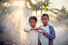 Dzieci z Kambodży