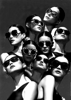 Les Opticiens Maurice Frères ♥ : Lee Hyun photographed by Pierre Debusschere for V-Bay Magazine, 2011