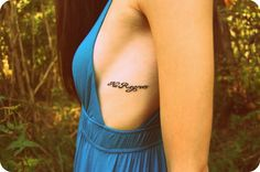 cute tattoo placements |no regrets | These Mountains Are Mine.: Tattoo Placement