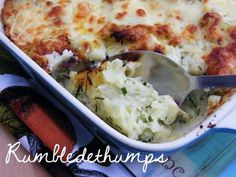 Side dish of champions rumbledethumps. | 23 Classic British Dishes To Keep You Warm Through The Long, Dark Winter