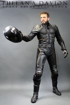 The model is PhelanDavion ( < Stock Rules!) The photographer is KaylaDavion Ideas for using this Stock Image: Jet / Space Ship Pilot, Mech Pilot, Exo-Suit, Race Driver (etc.) You can...