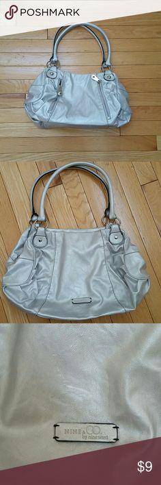 Nine   co by nine west silver handbag Nine   Co by Nine West silver handbag 968cf3bbe1515