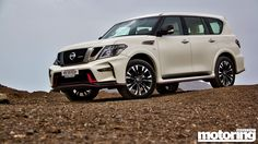 It's the performance edition of the Patrol with extra bhp and stiffening - see our video review of the 2016 Nissan Nismo Patrol