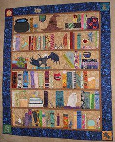 The Project of Doom - A Harry Potter Bookshelf Quilt (Multi-fandom, but mostly Potter) by SubtlySlytherin