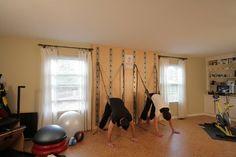 home yoga wall