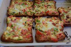 Λαχταριστές τραγανές φέτες τόστ σαν πίτσα !!! ~ ΜΑΓΕΙΡΙΚΗ ΚΑΙ ΣΥΝΤΑΓΕΣ