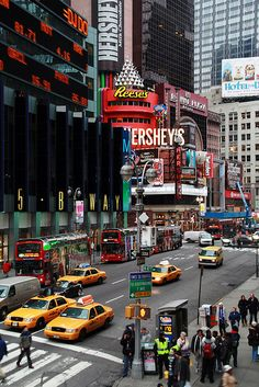 "Times Square, New York City, New York. Love this place! I could just sit on a bench and ""people watch"" for hours."