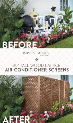 things just should not be seen.and an pool equipment is one of them. Hide the ugly in your yard with a Wood Lattice ScreenSome things just should not be seen.and an pool equipment is one of them. Hide the ugly in your yard with a Wood Lattice Screen