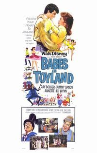 """""""BABES IN TOYLAND""""  (1961) ANNETTE FUNICELLO, TOMMY SANDS"""