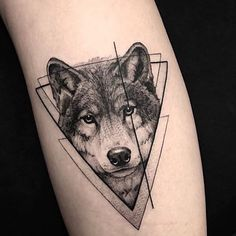 Wolf Tattoos That Take Your Breath Away [Latest 2019 Trends] wolf tattoo - Tattoos And Body Art Wolf Tattoos, Animal Tattoos, Leg Tattoos, Body Art Tattoos, Tattoo Ink, Tatoos, Wolf Face Tattoo, Wolf Tattoo Forearm, Horse Tattoos