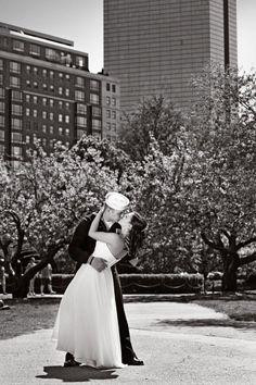 My Wedding Day in the Boston Public Garden     Photo Credit: JenniferRose Photography