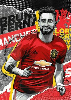 Manchester United Wallpaper, Football Players, The Unit, Red, Wallpapers, Club, Night, Illustration, Movies