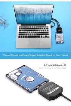 Ugreen Sata to USB 3.0 Adapter Cable Hard Disk Driver SSD Sata HDD Converter…