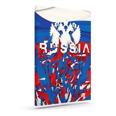 "Danny Ivan ""Russia"" World Cup Outdoor Canvas Art"