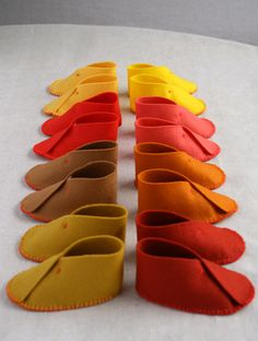 Felt Baby Shoes | Purl Soho - Create