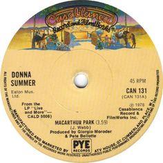 Donna Summer  MacArthur Park Vinyl 1978 Ex Condition