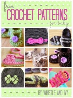 Free Crochet Patterns for Baby - U create by maria9735
