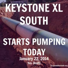 TX AND OK RESIDENTS START NEW CHAPTER AS KXL SOUTH BEGINS HAZARDOUS MATERIALS TRANSPORT THROUGH REGION. http://greenpeaceblogs.org/2014/01/22/tx-and-ok-residents-start-new-chapter-as-kxl-south-begins-hazardous-materials-transport-through-region/?utm_source=gpusfb&utm_medium=blog&utm_campaign=kxl