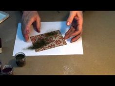 Tutorial- using embossing powder and an embossing folder together