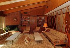 This house represents housing in Columbia, S., but it is an extraordinary example – still furnished with original fixtures such as built-ins and lighting. Aluka Berry/The State - Modern Living Room Mid Century Living Room, Mid Century Decor, Mid Century House, Mid-century Interior, Interior Stairs, Interior Livingroom, Scandinavian Interior, Interior Lighting, Vintage Industrial Decor
