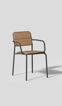 by bhend.studio for SIT Mobilia. Outdoor Chairs, Outdoor Furniture, Outdoor Decor, Product Design, Teak, Studio, Home Decor, Decoration Home, Room Decor