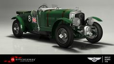 A supercharged version of the Bentley 4 1/2 Litre racer that had seen success in the 1928 24 Hours of Le Mans, the 'Bentley Blower' was a none-too-subtle attempt to get what Ettore Bugatti once witheringly described as 'the fastest truck in the world' moving even faster. To take a Bentley 4 1/2 Litre 'Blower' for a spin, download it now on Simraceway.