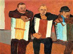 Emond, Martin (New Zealander, 1895-1965) - Accordion Players